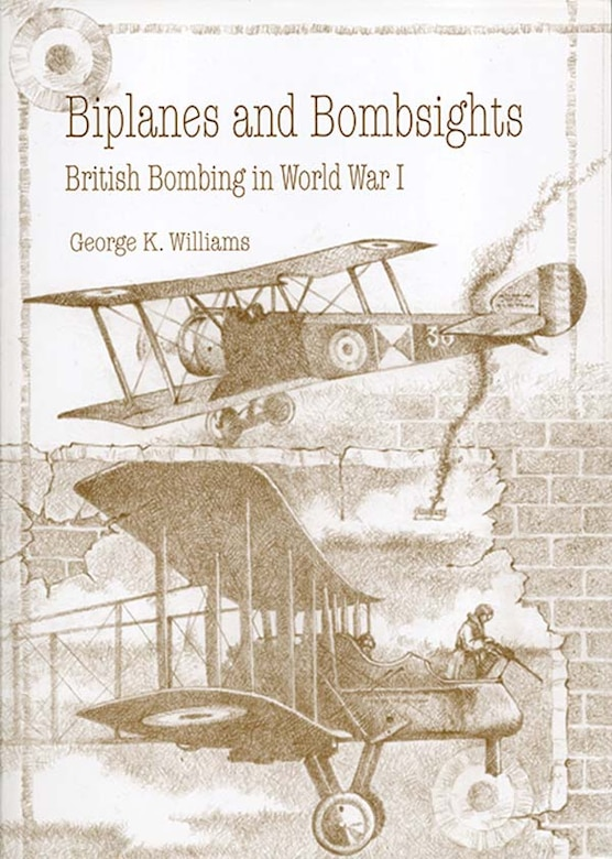 Book Cover - Biplanes and Bombsights