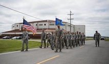 914th MSG guidon returns to Wing HQ
