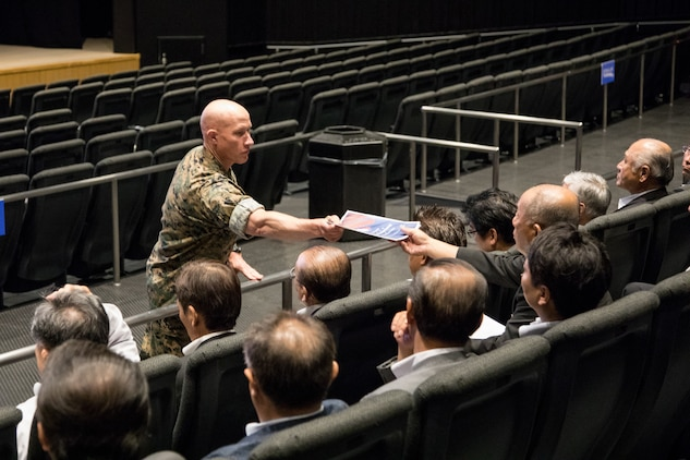 MCAS Iwakuni leadership hosts first Sound of Freedom Campaign