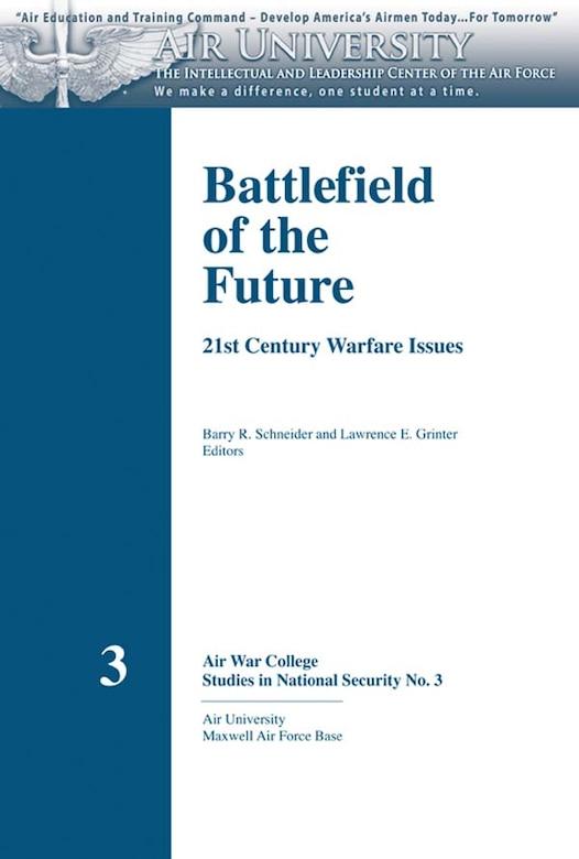 Book Cover - Battlefield of the Future