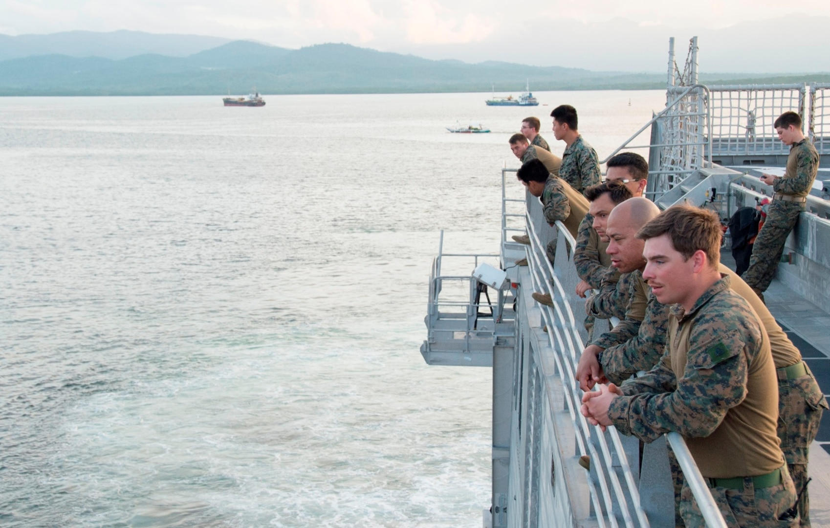 USNS Millinocket arrives in Puerto Princesa, Philippines in support of 7th Fleet's TSC mission