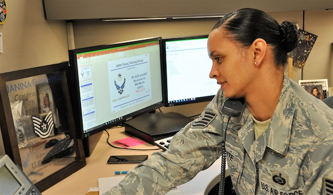 Tech. Sgt. Janina Eva White (U.S. Air Force photo by Janis El Shabazz)