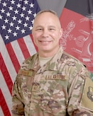 Official photo of Command Chief Master Sergeant  Donald W. Stroud II