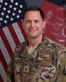 Official photo of Wing Commander Brigadier Genneral David B. Lyons