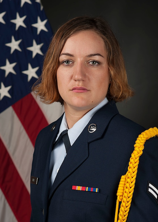 A portrait taken while in studio training at the Defense Information School, Fort George G. Meade, Maryland. (Courtesy photo)