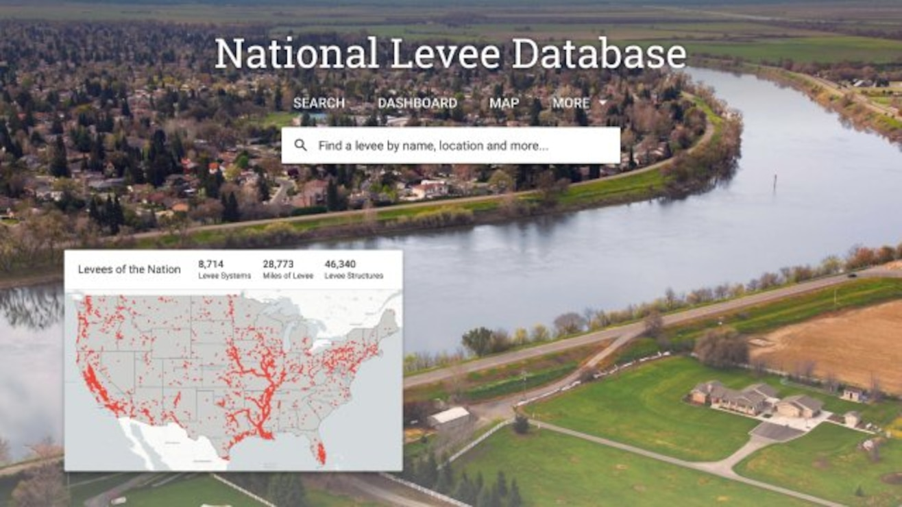 Welcome to the National Levee Database (NLD). The NLD is a congressionally authorized database that documents levees in the United States. The NLD is maintained and published by the U.S. Army Corps of Engineers (USACE). It recently underwent a refresh making more tools available to data managers to keep information updated and provides an improved dashboard that makes finding and understanding levee information easier than ever. NLD information includes the location, general condition, and risks associated with the levees.  The NLD contains information about the condition and risk information for approximately 2,000 levee systems (approximately 15,000 miles/mostly levees affiliated with USACE programs. An additional 6,000 levee systems--approximately 15,000 miles--have location information, but little to no information about condition and risk. One of the goals for the NLD is to include data about levees owned and operated by all other federal agencies, tribes, states, municipalities, levee boards, and private entities. This information will be added as it becomes available.   The database includes attributes of levees and floodwalls relevant to flood fighting, design, construction, operation, maintenance, repair and inspection. Because the location and characteristics of levee systems can be viewed on a map with real-time data from other sources, such as stream gauges and weather radar, it is a useful tool for a variety of public agencies and individuals including flood plain managers, emergency management agencies, levee system sponsors and citizens who live or work behind a levee.   The NLD information is presented in a convenient dashboard and includes the ability to search on specific areas of interest or geographically.  The database is available at https://levees.sec.usace.army.mil