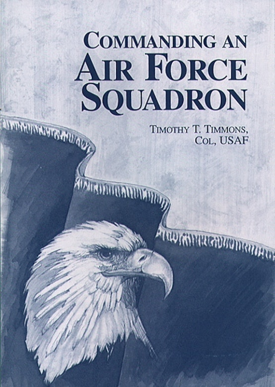 Book Cover - Commanding an Air Force Squadron