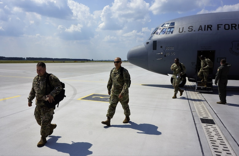 7th Mission Support Command arrives in Poland to support Saber Strike 18