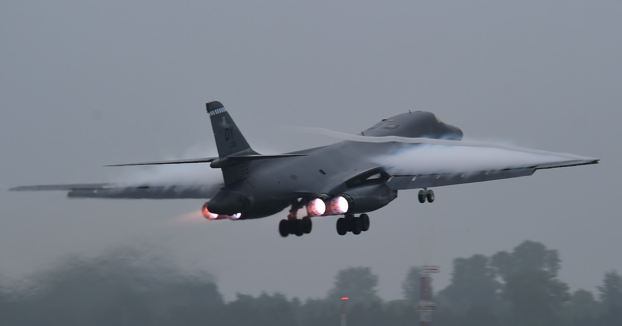 B-1B Lancers support Exercise Baltic Operations