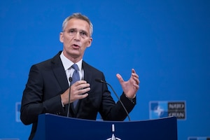 NATO is stronger than ever and upcoming initiatives will increase the alliance's readiness capacity, NATO Secretary General Jens Stoltenberg told reporters at the alliance headquarters in Brussels, June 6, 2018. Stoltenberg briefed reporters on the upcoming June 7-8 meeting of NATO defense ministers in Brussels. NATO photo