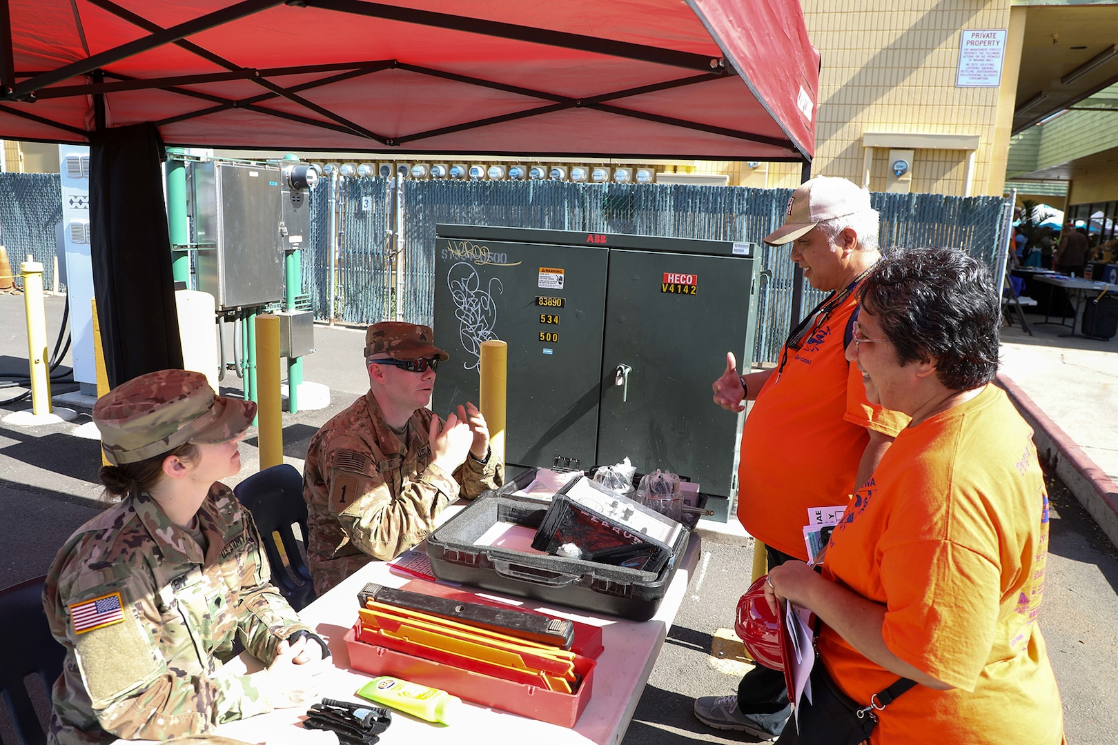 Waianae Coast Disaster Readiness Fair: 2/25 IBCT helps the community get prepared