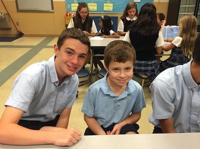 St. Charles Preparatory school junior Colin Lauber has earned a spot at the Marine Corps Recruiting Command Summer Leadership and Character Development Academy (SLCDA) through his dedication to giving back to his fellow students and his community. Lauber, of Columbus, Ohio, is one of 200 students nationwide selected to attend. (Courtesy photo provided by Colin Lauber)