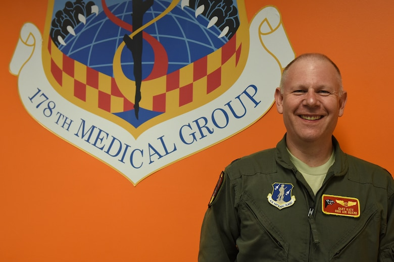 Lt. Col. Gary Katz, a flight surgeon assigned to the 178th Medical Group, owns a medical staffing agency in addition to fulfilling his Air National Guard duties. Katz's innovative attitude exemplifies the diversity of the U.S. military that gives it a strategic advantage in achieving mission success.