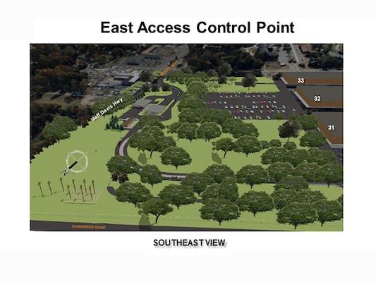 Construction Begins on DSCR's New East Gate