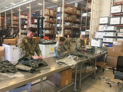 Army Reserve Unit Trains to Rapidly Mobilize Reserve Soldiers