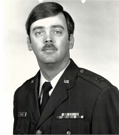 Capt. William Howard Hughes, Jr. was formally declared a deserter by the Air Force in 1983. He was apprehended by AFOSI SAs from Detachment 303, Travis AFB, Calif., where he's awaiting pre-trial confinement. (U.S. Air Force photo)