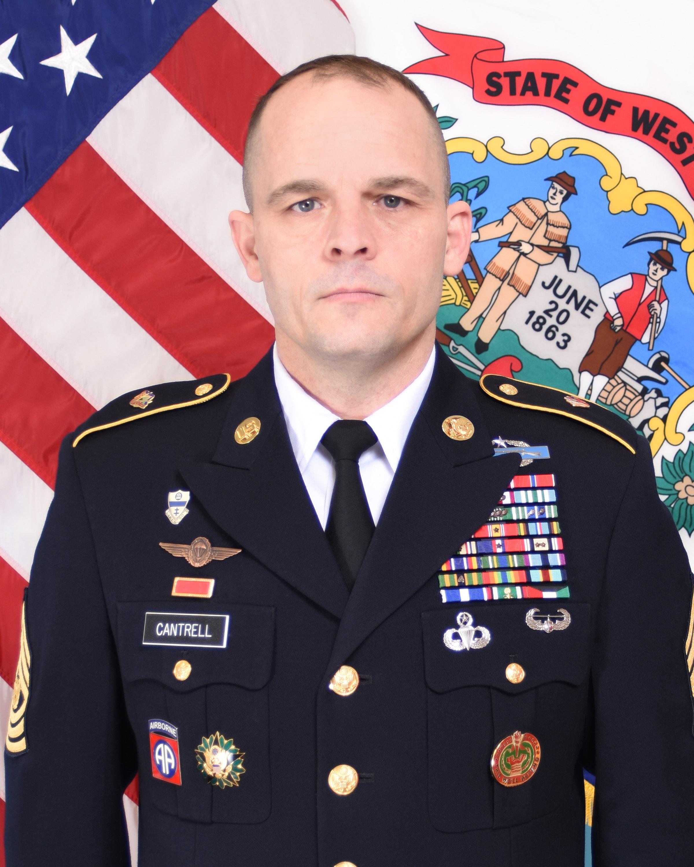 Command Sergeant Major Phillip R  Cantrell > West Virginia