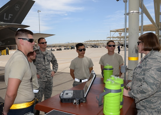 56 MXG frees up time for leaders to connect with Airmen