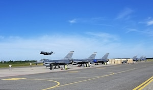 140th Wing in Estonia to support Saber Strike 18.