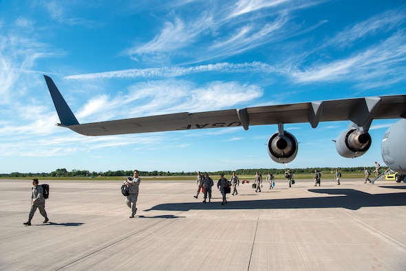 140th Wing supports Saber Strike 18 in Estonia.