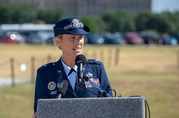 502 Air Base Wing Change of Command