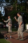 USAF Blue Aces Band performs in Lewiston, N.Y.