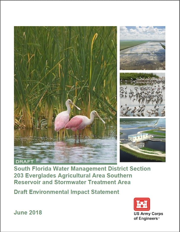 Draft EIS South Florida Water Management District Section 203 Everglades Agricultural Area Southern Reservoir and Stormwater Treatment Area Draft Environmental Impact Statement