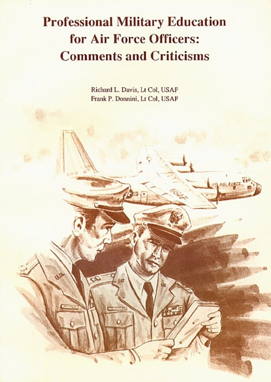 Book Cover - Professional Military Education for Air Force Officers