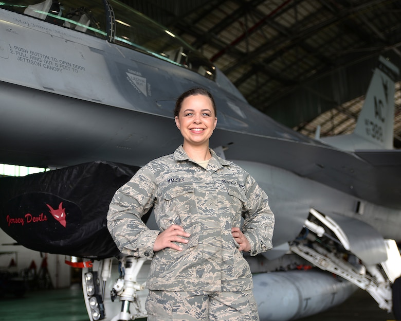 U.S. Air Force Senior Airman Samantha M. Massey