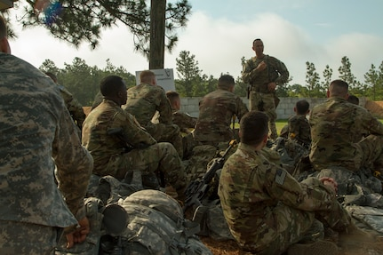 2018 Army Reserve Best Warrior:  EIC match