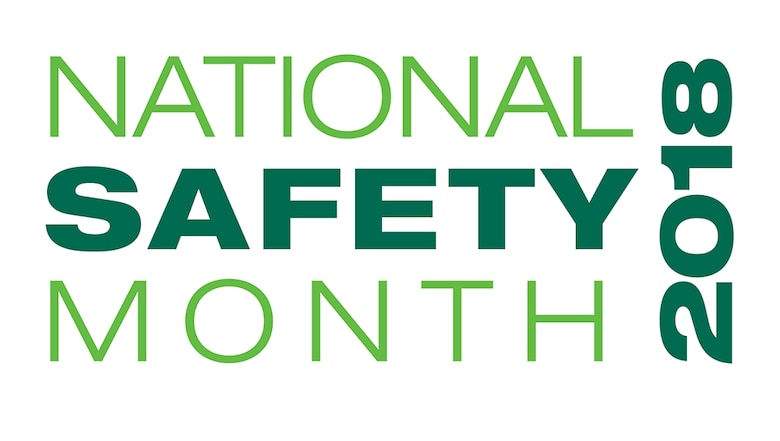 National Safety Month 2018 logo from the National Safety Council (Used with permission).