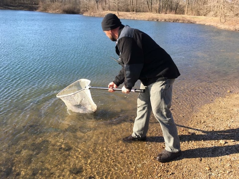 Wright-Patterson lakes stock up on trout, catfish