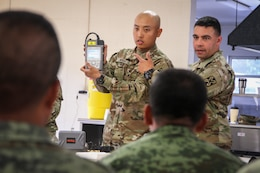 Army Reserve Soldiers join forces in annual multi-component exercise to train Mexican Army