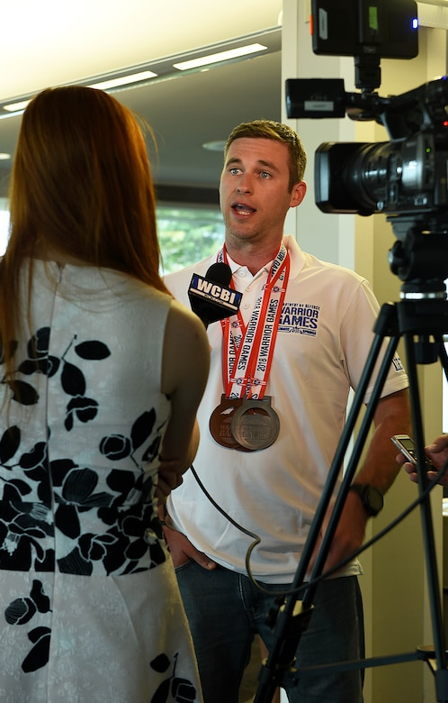 Barnhill returns from Warrior Games, earns 3 medals