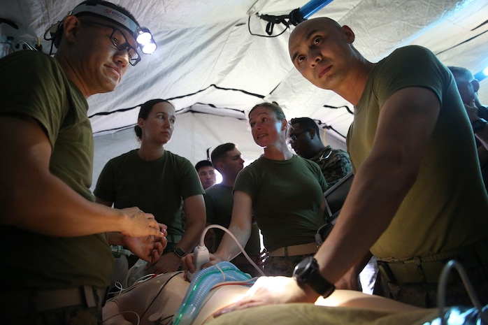 3rd Medical Battalion participates in Exercise Inochi No Onjin