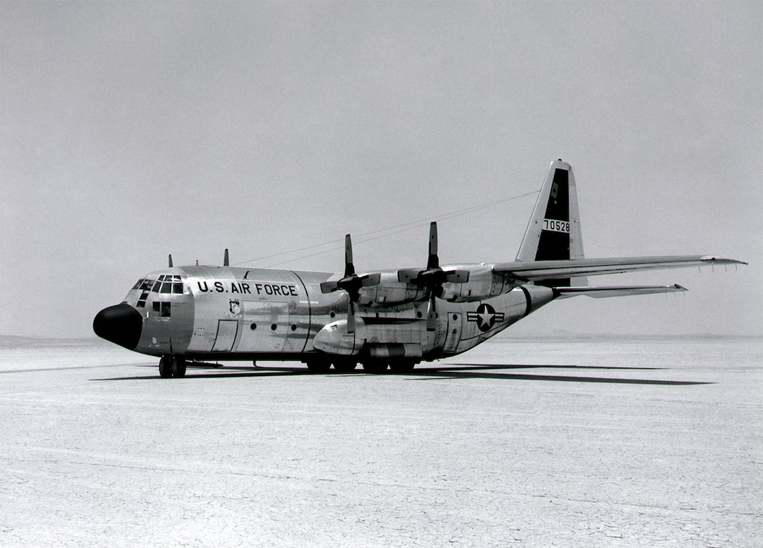 C-130 at Edwards in 1962