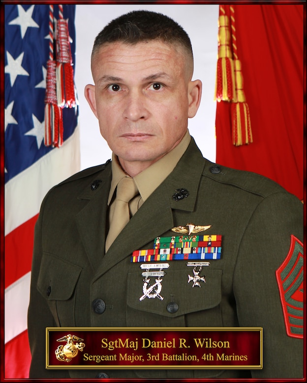 SgtMaj Daniel R. Wilson