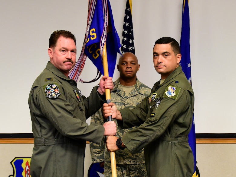 passing of ceremonial guidon.