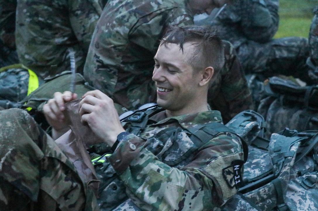 2018 Army Reserve Best Warrior Ruck March
