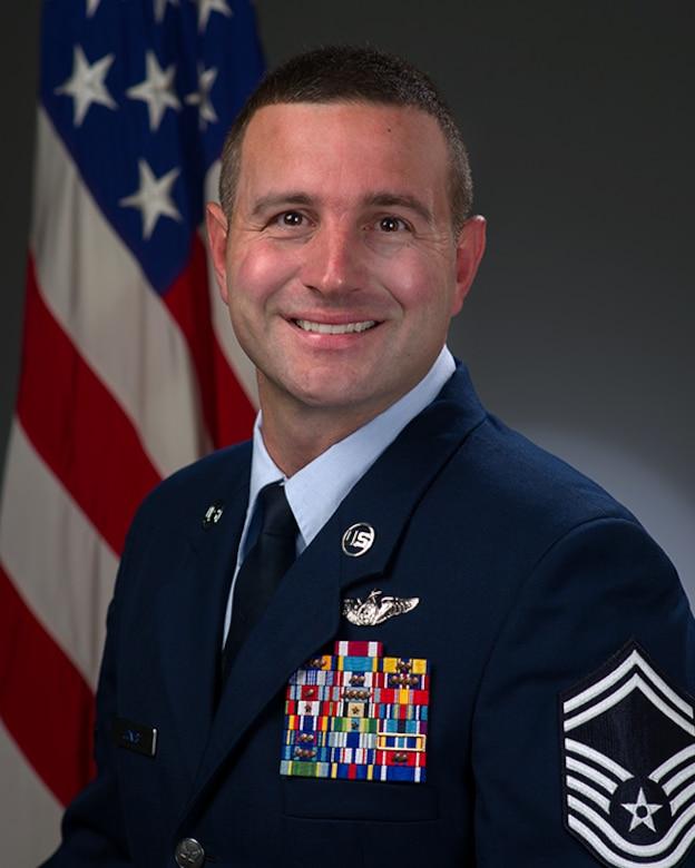 Senior Master Sgt. Travis E. Jones official photo