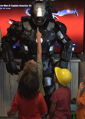 War Machine at children's party