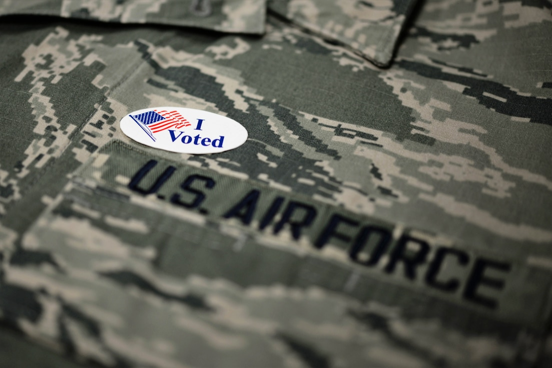 The Federal Voting Assistance Program is supported by the Airman and Family Readiness Center