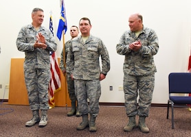 Security Forces Squadron Conducts Change of Command Ceremony
