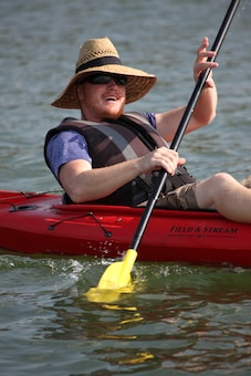 Whether by kayak, canoe or raft, you can float the Missouri River from Rulo, Nebraska to St. Louis, Mo. fully in the Kansas City District.  These 498 miles of river have some of the richest viewing in our area.