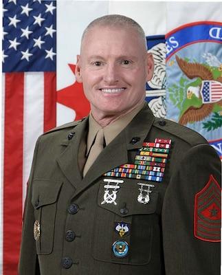 Sergeant Major Paul McKenna
