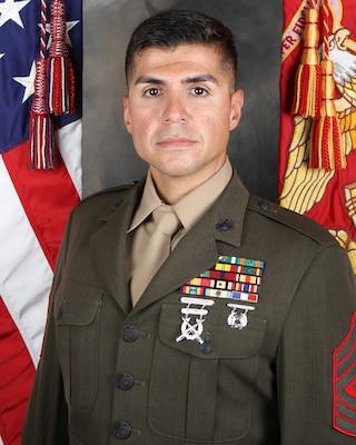 First Sergeant, Headquarters Battery, 5th Battalion, 14th Marine Regiment