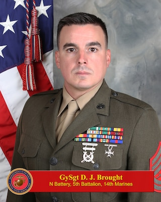 Inspector-Instructor Battery Gunnery Sergeant, November Battery, 5th Battalion, 14th Marine Regiment