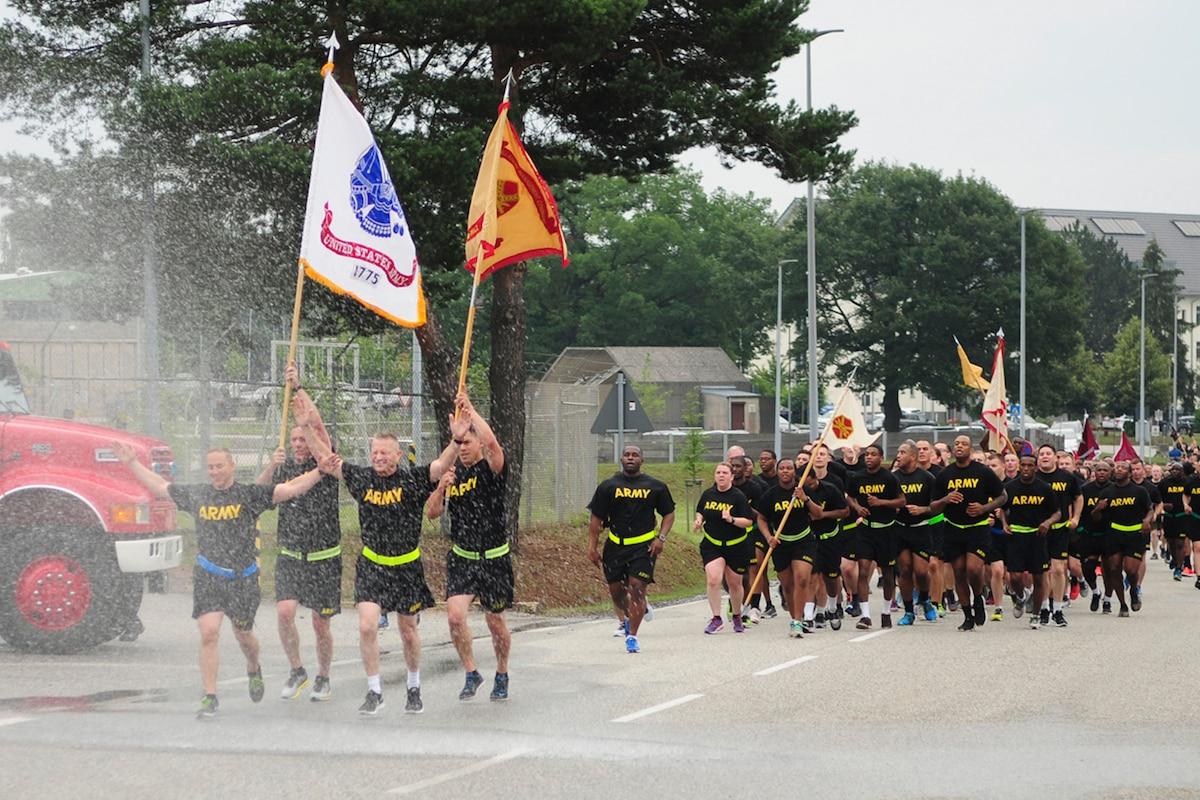 Team 21 celebrates U.S. Army's 243rd Birthday