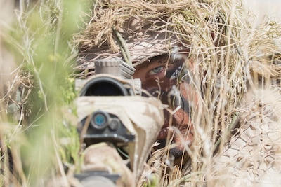 Idaho National Guard snipers get in and out, unseen