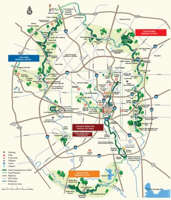san antonio bike trails map City And Joint Base San Antonio Partner To Pave Way For Salado san antonio bike trails map